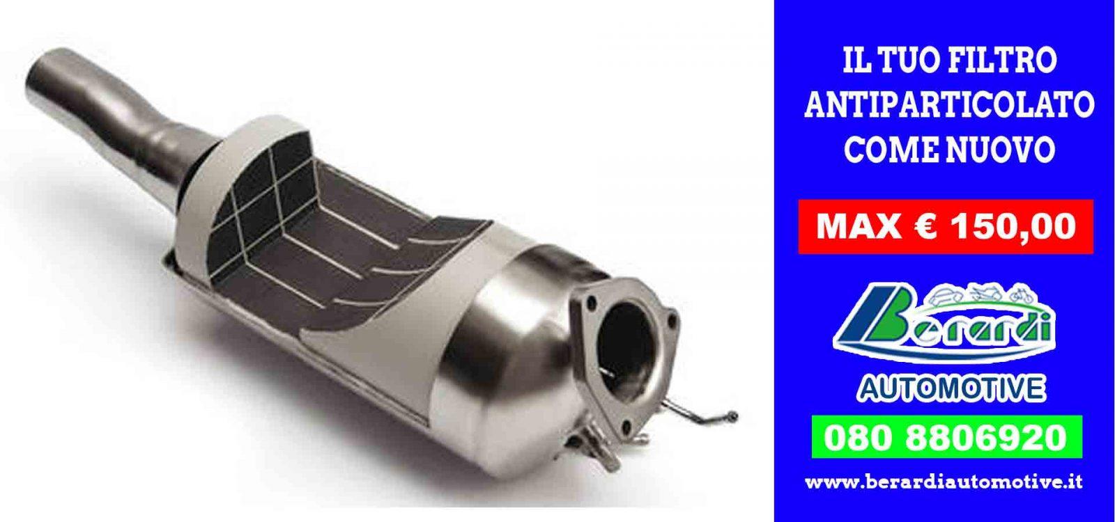 26f58575e0ea Ripuliamo perfettamente il tuo filtro antiparticolato FAP DPF max 150€